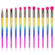 Makeup Brushes Set 12Pieces Eyeshadow Eyeliner EyeBrow Shader Lip Eye Makeup Kit