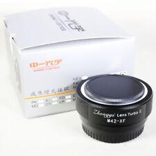 Zhongyi Lens Turbo II Focal Reducer Booster Adapter M42 to Fujifilm FX X Pro2 T3