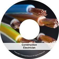 Construction Electrician Electronics Power Equipment PDF Manuals Book on CD