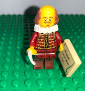 LEGO Collectible Minifigure: William Shakespeare - 71004 - Lego Movie Series