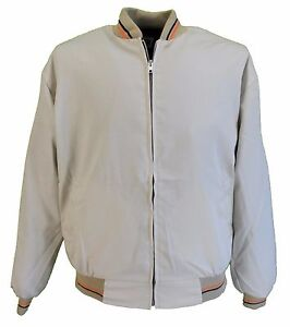 Mens Biege Classic Harrington Monkey  Jacket