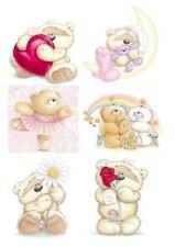 Fuzzy Teddy Bear Iron on Transfers