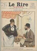 Journal Le RIRE Rouge, édition de guerre N° 140 du 21 juillet 1917