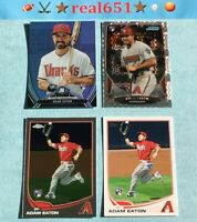 2013 ADAM EATON Rookie Lot x 4 RC Bowman Chrome Xfractor Topps | Nationals Batch