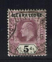 Sierra Leone SG# 93, Used  -  Lot 010216