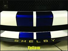 2015-2016-2017 Ford Mustang SHELBY GT350 Front Splitter Vinyl Decal Overlay