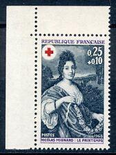 STAMP / TIMBRE FRANCE NEUF  N° 1580a ** CROIX ROUGE LE PRINTEMPS ISSUS DE CARNET