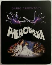 PHENOMENA LIMITED EDITION BLU RAY CD 3 DISC SYNAPSE EXCLUSIVE RARE OOP STEELBOOK