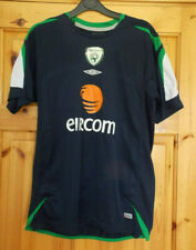 Republic of Ireland Training Football Jersey Shirt Adult Size Small S FAI Navy