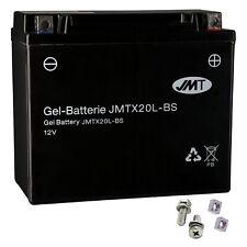 YTX20L-BS GEL-Bateria Harley Davidson FXDF 1584 Dyna Fat Bob ABS 2012 de JMT