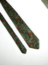 FENDI Cravatta Tie FATTA A MANO HAND MADE Originale  100% SETA SILK
