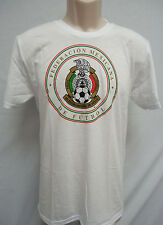 Men's Mexico Seleccion Mexicana Futbol Soccer Adidas Performance T Shirt White M