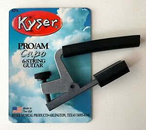 KYSER PRO/AM CAPO FOR 6-STRING GUITAR- BRAND NEW!