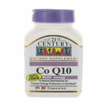 21st Century Health Care, Co Q10, 60 mg, 75 Capsules