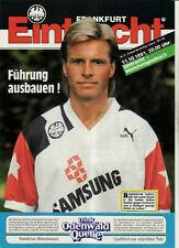 BL 91/92 Eintracht Frankfurt - Borussia Mönchengladbach