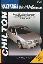 Volkswagen Golf/Jetta/GTI 1999-2005 Repair Manual (Chilton's Total Car Care G11