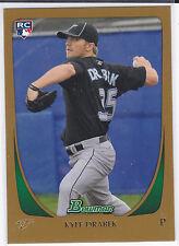 Kyle Drabek Toronto Blue Jays 2011 Bowman Baseball Blue Border Rookie Card