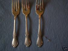 ONEIDA  STAINLESS SALAD FORKS MANSFIELD FROSTED 4