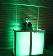 Equinox Style Foldable DJ Screen / GLOW BOOTH PRO !!!