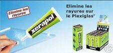 polish Efface rayures XERAPOL pour Plastique-plexiglass