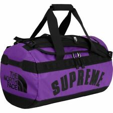 Supreme The North Face Arc Logo Small Base Camp Duffle Bag Purple SS19