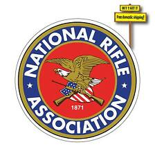 NRA Decal/Sticker National Rifle Association Gun Rights Pistol 2nd Amen p25