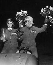DUNLOP ENFANTS PRIX DE  L'ACTION AUTOMOBILE TOURISTIQUE circa 1950