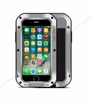 Schutzhülle ORIGINAL Love Mei Outdoor Powerful Protect Case Tasche Cover silber