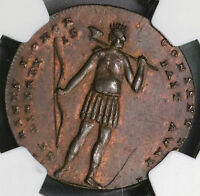 1794 NGC UNC SPENCE & INDIAN 1/2 Penny Conder Token Middlesex DH 684 (18090402CZ