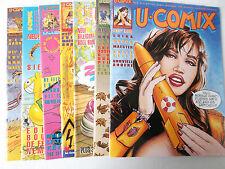 7 Stück U-COMIX Sammlung ( Alpha Comic Verlag )