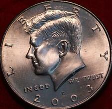 Uncirculated 2003-D Denver Mint Clad Kennedy Half
