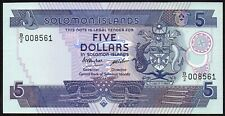 Solomon Islands $5 Dollars 1986 (P-14a)