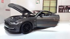 Ford Mustang Gris 2015 2.3 3.7 5.0 V8 Gt 1:24 Escala Fundido Modelismo Coche