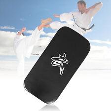 Leather PU Martial Taekwondo MMA Boxing Kicking Punching Foot Target Pad Top YL