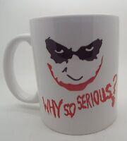 Why so serious joker batman dc 11oz ceramic mug gift Christmas fathers day