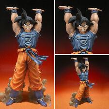 Japan Anime Dragon Ball Z Super Saiyan Genkidama Son Goku Model Figure DBZ Toys