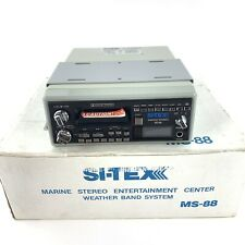 Si-Tex Marine Stereo Entertainment Center Weather Band System MS-88 Sitex