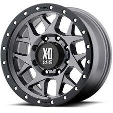 16x8 Gray XD127 6x5.5 0 BFGoodrich Advantage T/A Sport KO2 265/70R16 Rims Tires