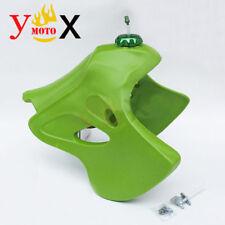 4 Gallon Green Fuel Gas Tank W/ CNC Cap For Kawasaki KLX 250 93-96 KLX 300 97-08