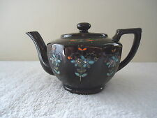 """Vintage Made In Japan Ceramic Tea Pot With Flower Designs And Lid """" BEAUTIFUL IT"""