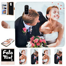 Personalised Phone Case With Own Photo Flip Case Image name print for Samsung