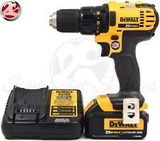 DeWALT DCD780B 20V MAX Cordless 3.0 Ah Li-Ion 1/2 inch Compact Drill Driver Kit