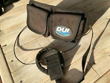 Dui Weight Belt Pocket (with two velcro pockets) for Scuba Diving & Large Handle