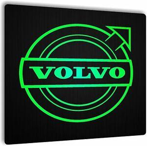 12v/24v Cabin Interior LED Light Plate VOLVO logo Truck  Board 50x50