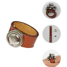 1X Powerful Slingshot Leather Magnetic Ring Steel Ball Bearings Hunting Catapult