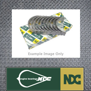 NDC STD Conrod bearing set fits Mitsubishi 4G62 G62B Sirius Cordia AA AB AC L300