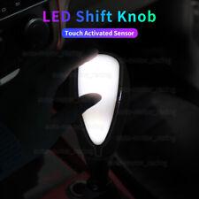 Universal Car Auto Gear Shift Knob LED Light WHITE Color Touch Activated Sensor