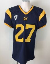 California Cal Bears Game-Used #27 Blue Jersey MITCHEL BARTOLO SIGNED Team Work