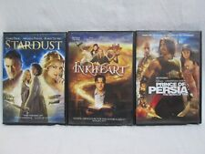 3 FANTASY ADVENTURE DVD Movies- Stardust, Inkheart, Prince of Persia
