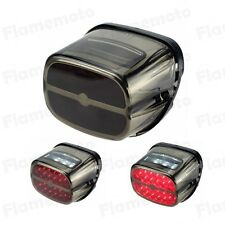 LED Brake Tail Light License Plate Lamp Bulb For Harley Softail FXST FXSTC FXSTI